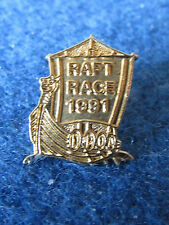 Police Enamel Badge - 1991 Raft Race - DPOA