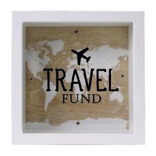 Travel Fund Deep Box Frame Money Box By Splosh Saving For Holiday