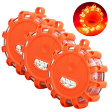 3PCS Magnetic Road LED Emergency Beacon Roadside SOS Flare Safety Strobe Light B