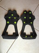 New listing Spare Spike anti-slip winter shoe cover with traction studs - size Large