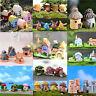 23 Styles Miniature Dollhouse Resin House Garden Fairy Bonsai Fish Tank Decor