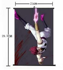 "Hot Japan Anime Hunter X Hunter Cosplay Home Decor Wall Scroll Poster 8""x12"" 016"