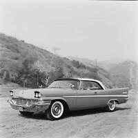 Chrysler New Yorker 1957 model OLD CAR ROAD TEST PHOTO 18