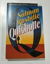 Quichotte by Salman Rushdie 2019 ARC paperback