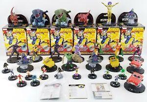 WizKids HeroClix Marvel Avengers Infinity Lot of 32 Figures NECA USED