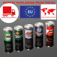 Rc Car Beer Cans 5 x Miniature Beer Cans For Rc4wd, trx4, scx10, Tamiya, rgt