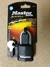 MASTER LOCK EXCELL M115DLF PADLOCK LEVEL 8 NEW 48mm