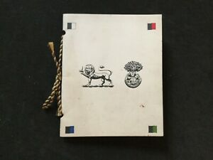 WW1 XMAS GREETINGS CARD 1917