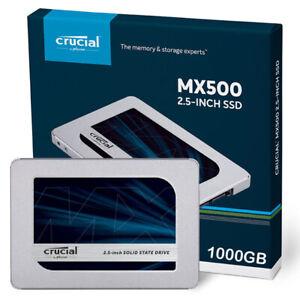 "Crucial MX500 1TB 2.5"" SSD - CT1000MX500SSD1 - Retail Pack"