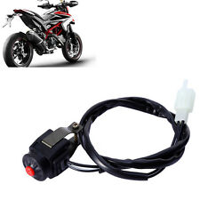 """7/8"""" Kill Stop Handlebar Control Switch Horn Button For Motorcycle Quad ATV Hot"""