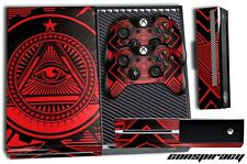 Designer Skin for XBOX ONE 1 Gaming Console +2 Controller Sticker Decals CNSPY R