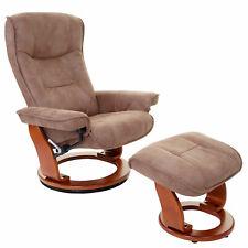 MCA Relaxsessel Halifax, Fernsehsessel, Textil 130kg antikbraun, honigfarben