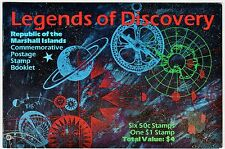 Marshall Islands 1992 #418/24 Legends of Discovery Space Fault MNH