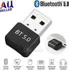 Bluetooth V5.0 Wireless Usb Mini Dongle Adapter For Windows Laptop Pc Universal
