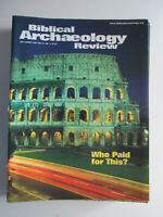 Biblical Archaeology Review July/August 2001 Financing The Colosseum