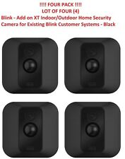 New Lot Of 4 Blink Add on Xt Home Security Cameras for Existing Blink Customers
