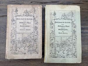 Taschenbuch für Reisende Tirol Südbayern Salzburg, Hartwig Schaden 1836/42