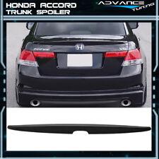 08-12 Honda Accord Sedan 4Dr Unpainted ABS Rear Trunk Spoiler