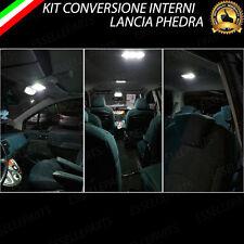 KIT FULL LED INTERNI LANCIA PHEDRA KIT CONVERSIONE COMPLETA CANBUS 6000K