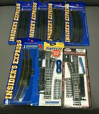 HO Scale Track and Switch LOT Life-Like Atlas PC Left Remote Right Hand HO Gauge