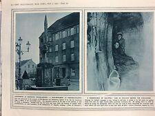 72-4 ephemera 1916 picture ww1 hindenberg at zeppelin R friederichshafen
