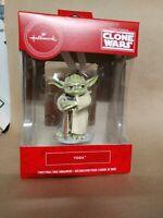 Hallmark 2020 Star Wars YODA Clone Wars Red Box Christmas Tree Ornament NEW