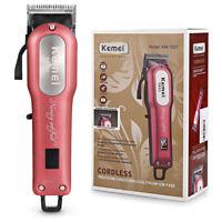 KM-1031 électrique hommes coupe-cheveux tondeuse barbe rasoir sans fil Kit de