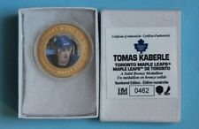 Tomas Kaberle Toronto Maple Leafs NHL SOLID Bronze Medallion/Coin