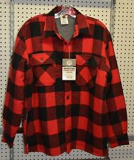 New / defect Flannel Jacket Sherpa Lined Extra Heavyweight Buffalo  (refbte#66)