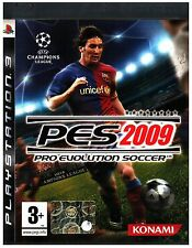 VIDEOGIOCO  PS3  SONY  PES 2009 PRO EVOLUTION