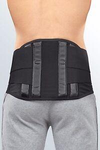 medi lumbostyle double pull back brace support stay lumbar belt strap sciatica