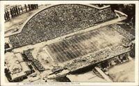 Ithaca NY Football Field Cornell Uni Real Photo Postcard