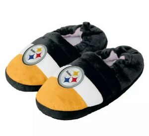 Pittsburgh Steelers NFL Toddler / Youth Boys' Aline Color Block Slippers: S-XL
