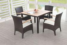Garten-Garnituren & -Sitzgruppen aus Teak