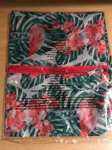 Avon Small Tropical Flamingo Travel Storage BRAND NEW & SEALED
