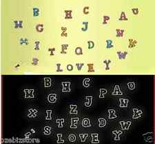 A-Z letter Alphabet Noctilucent Fluorescent Glow In The Dark Kids wall Stickers