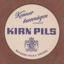 Bierdeckel , Coaster , Brauerei PH.&C. ANDRES ,KIRNER PILS, Kirn / Rheinland-Pf