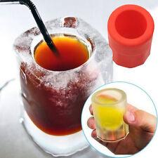 Rot Tasse Cup Eiswürfelform Eiswürfel Eisform Whiskey Eiskugel Eiswürfelbereiter