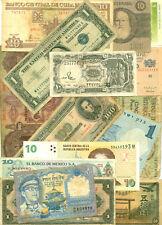 U.S./Arg./Brasil/Nepal/  15 note lot  (L1) World paper money banknotes currency
