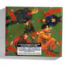 SHINee Vol.5 1of1 Taiwan CD 76P Photobook 24P Card Sheet 2015 Jong Hyun NEW
