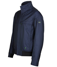 Genuine Mens Hugo Boss Green Sports Outdoor Jacket Navy 46 RRP £280 (Jadon 17)