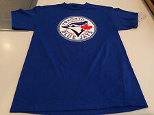 Toronto Blue Jays MLB Baseball Men's Basic Logo Bulletin Fitted T Shirt XL