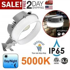 Dusk To Dawn LED Barn Light 42W Photocell Outdoor Area Security Yard Lamp 5000K