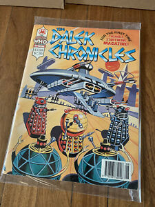 RARE: The Dalek Chronicles. From TV21. Doctor Who Magazine Special. NEAR MINT