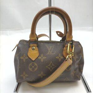 Louis Vuitton Hand Bag M41534 Mini Speedy Browns Monogram 632143