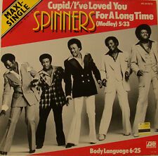 """SPINNERS CUPID / I´VE LOVED YOU FOR A LONG TIME 12"""" MAXI (h469)"""