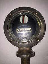 """ OAKLAND MIAMI CO.  MIAMI, FLA""    Oakland  Moto Meter"