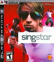 Singstar for PlayStation 3 PLAYSTATION 3 (PS3) Simulation New Factory Sealed