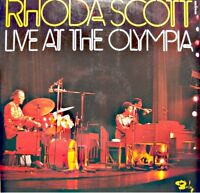 RHODA SCOTT live at the olympia 2LP'S BARCLAY bluesette/equinox/i hear music VG+