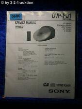 Sony Service Manual DVP PQ1 CD/DVD Player (#6680)